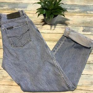 Vintage Harley-Davidson high waisted jeans